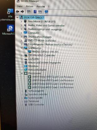 Kl. Gamer PC AMD FX 4300 4X3,8 GHZ 8GB Ram HDD500GB GTX 285 - Oldenburg (Oldenburg)
