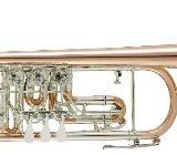 V.F. Cerveny CTR 701 R Konzert - Trompete aus Goldmessing mit Neusilberkranz, Neuware - Bremen Mitte