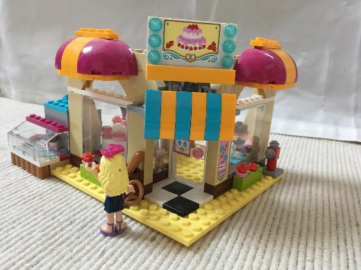 lego friends Eckcafe, sehr gut erhalten
