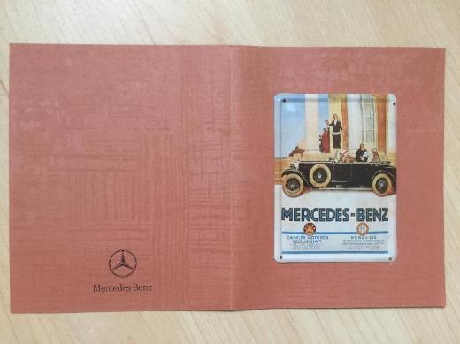Mercedes-Benz Emailleschild -Rarität- - Bremen
