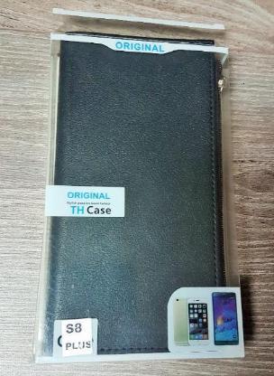 Leder HandyEtui Samsung S8 plus Reißverschluss Geld Kartenschacht - Verden (Aller)
