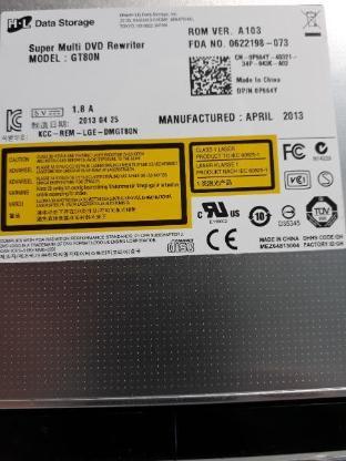 Super Multi DVD Rewriter für Dell Lutitude Laptop E5530 - Bremervörde