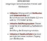 Boxspringbett Hochwertig mit Topper - Rastede