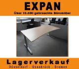 Freiformschreibtisch FM Ergo Ahorn, Schreibtisch,Tisch, Büromöbel - Bremen
