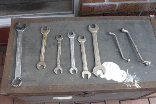 Verschiedene Schraubenschlüssel