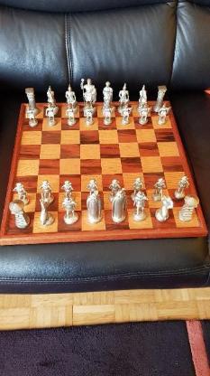 Schachspiel Enzelstück