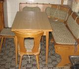 Kücheneckbank mit Tisch und 2 Stühlen - Ottersberg