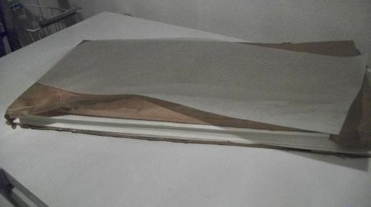 Pergamin, Papier zur Lebensmittel-Verpackung, in Bögen - Visselhövede