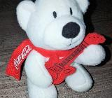 Coca Cola Bär Teddy Eisbär mit Gitarre - Verden (Aller)