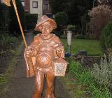 Nachtwächter Holzstatue bayr. Holzschnitzkunst - Bremen