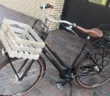 Fahrrad Damen Gazelle 7-Gang Ledersattel-/griffe - Bösel