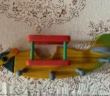 Garderobe Holz Motiv Flugzeug - Emstek