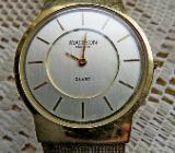 Für Kenner: Superflache Marken-Armbanduhr, Milanaise-Uhrenarmband, gebrauchter Zustand! - Diepholz