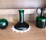 Vintage Glasgefäße, dunkelgrün - Bremen