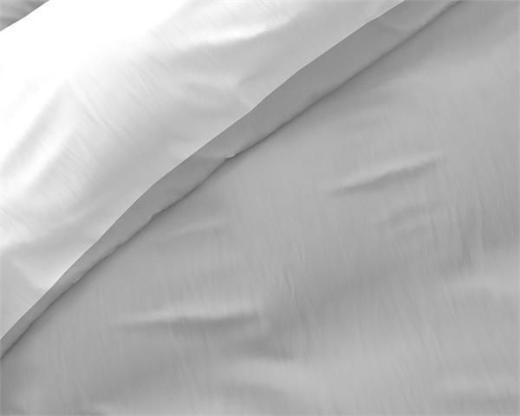 Bettwäsche Twin Face White/Grey 240x220 - Friesoythe
