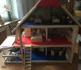 Puppenhaus, neuwertig - Syke