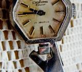 Handaufzug! Damen-Marken-Armbanduhr, Edelstahl, sie funktioniert! - Diepholz