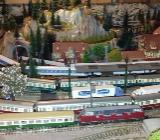 Modelleisenbahn,Spur N , Komplette Anlage zu verkaufen - Oldenburg (Oldenburg)