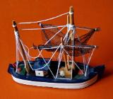 Schiffsmodell (Fischkutter) - Wilhelmshaven