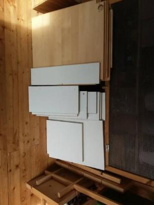 Spanplatten Holzreste Bastelholz weiß Birke - Nordholz