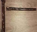 2 x Schreibtisch Metallschienen mit Rollen 300 mm 35 kg belastbar - Verden (Aller)