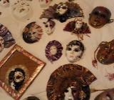 Venezianische Maskensammlung, Porzellanmasken super günstig - Rotenburg (Wümme)