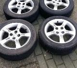 Mazda Alu Felgen mit Reifen - Bremervörde