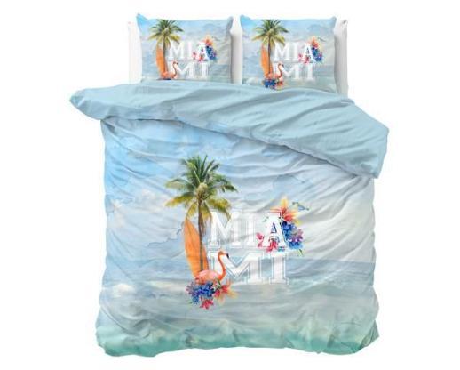 Bettwäsche Miami Summer Blue 200x220 ReVyt - Friesoythe