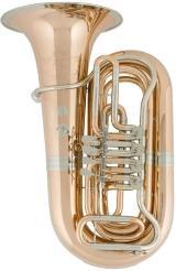 Cervený Arion Goldmessing - Tuba CBB 783-4R mit Koffer