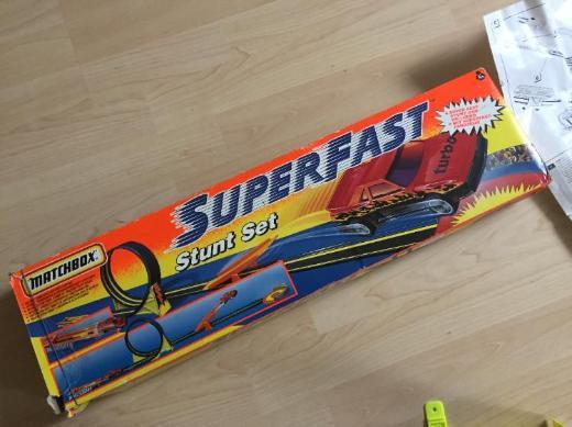 Matchbox Superfast Rennbahn – Stunt Set - Bremen
