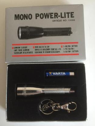 Mono Power-Lite Taschenleuchte - NEU - - Bremen