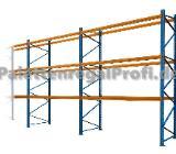 30,9 m Palettenregal NEU H:3,50m für 132 Paletten Schwerlastregal - Wilhelmshaven