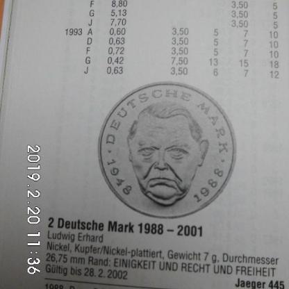 D-Mark 2 DM - Bremen Woltmershausen