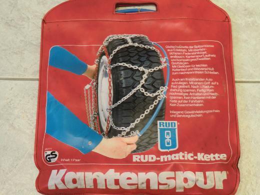 Schneeketten, Kantenspur RUD-matic-Kette - Bremen