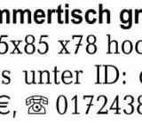 Antiker Esszimmertisch gr -
