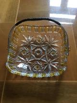 Omas Bleikristall Keksschale aus den 50er Jahren - fast Antik