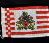 "Flagge Motiv ""Bremer Wappen"" ca. 20 x 30 cm - Achim"