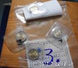 4 Stück 2 Euro Münzen Stempelglanz  3 - Bremen
