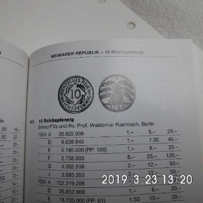 10 Reichspfennig 1924 - Bremen