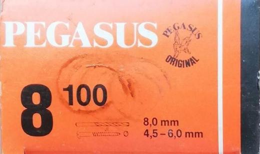 PEGASUS Nylon-Dübel (8 mm / 100 St.) - Verden (Aller)