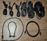 9 x Stück Koaxialkabel 95 dB / 75 Ohm, 3C-2V,Stecker zu Buchse von 30 cm -10 m - Verden (Aller)