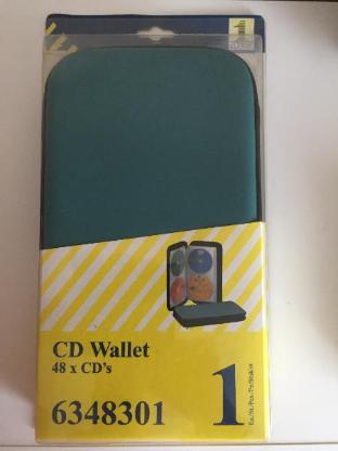Hochwertige CD/DVD Tasche / Wallet für 20, 24 und 48 CD's -NEU- - Bremen