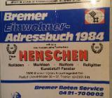Bremer Einwohner Adressbuch 1984 - Thedinghausen