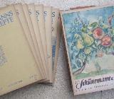 Schünemanns Monatshefte, 15 Stück aus 1927-1929 - Bremen