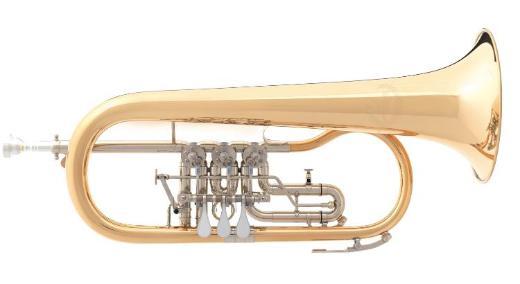 B & S 3017/2TR-L Goldmessing Konzert - Flügelhorn, Neuware / OVP - Bremen Mitte