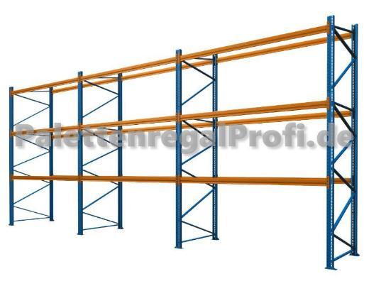 8,50 m Palettenregal Schwerlastregal NEU H:3,50 m für 36 Paletten - Wilhelmshaven