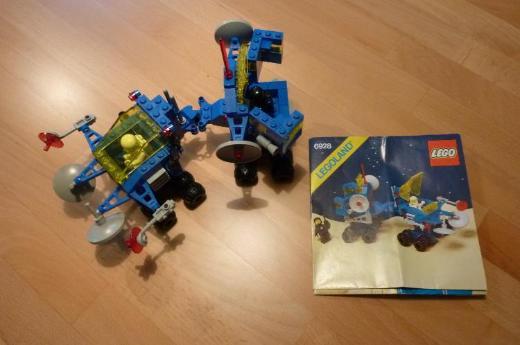 Lego Raumfahrt 6928 Uranium Search Vehicle