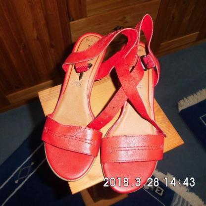 Damen Sandalette Rot - Bremen