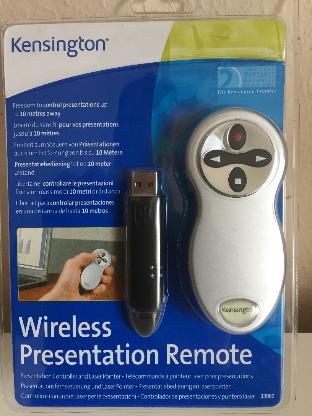 Kensington Wireless Präsentation Fernbedienung mit Laserpointer