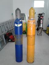 Acetylen+Sauerstoffflasche